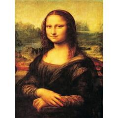 Pintura Com Diamantes - Tela Mona Lisa - 38 x 48 cm