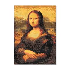 Kit Pintura com Diamantes | Tela Mona Lisa - 30 x 42 cm - Diamante Redondo | Diamond Painting 5D DIY